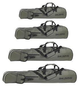 Balzer Rutenfutteral Rutentasche für 3-5 Ruten Kescher 1,00m 1,25m 1,45m 1,65m