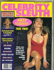 CINDY CRAWFORD Celebrity Sleuth 1994 Vol 7 No 6 SHARON STONE MADONNA DEMI MOORE