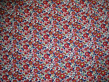 "LIBERTY OF LONDON  TANA LAWN FABRIC DESIGN ""Betsy Ann A"" 2.3 METRES  (230 CM)"