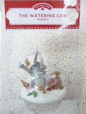 """""""The Watering Can"""" Victorian Christmas Village Figurine by Holiday Time"""