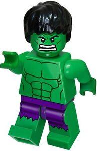 Lego - The Incredible HULK - rare minifig - Marvel superheroes