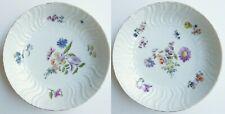 Soucoupes - Porcelaine de Meissen - Deutsche Blumen - XVIIIe