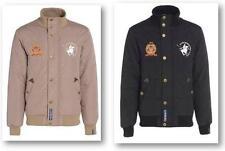 Men's Funnel Neck Bomber, Harrington Waist Length Zip Coats & Jackets