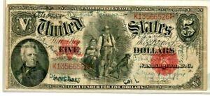"""$5 """"WOOD CHOPPER NOTE"""" (NICE NOTE) 1907 """"WOOD CHOPPER NOTE"""" (NICE NOTE) RARE!!!"""