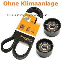 V-Ribbed Belt-Set + Tensioner Pulley for Opel Movano Vivaro 2.2/2.5 DTI