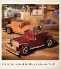 Retro Bluetooth Speaker Wireless Vintage Classic Car Card FM Radio Loudspeaker