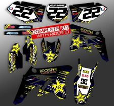 2007 2008 2009 RMZ 250 GRAPHICS KIT SUZUKI RMZ250 MOTOCROSS DIRT BIKE DECALS