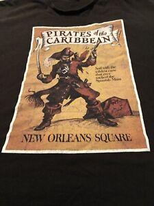 Disney Pirates Of The Carribean T Shirt Men's 4 XL