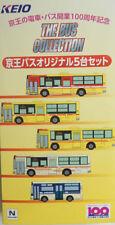 1/150 N scale TOMYTEC KEIO Bus 100th Anniversary X 5