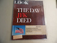 Look Magazine / February 7 1967 / The Day JFK Died / Free Domestic Shipping