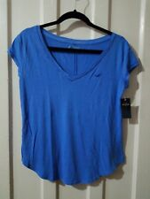 HOLLISTER Women's T Shirt blue small size new with tag