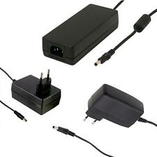 Plug-in / desktop power supply ; MeanWell GSE SGA GST series ; EU-Plug