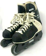 CCM Tacks 155 Men's 8 Sr Inline Roller Blades Street Hockey Skates Vintage Black