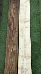 Reclaimed Rustic Original Aged Beam Planks Sanded & Waxed Finishes 226mm - 64mm