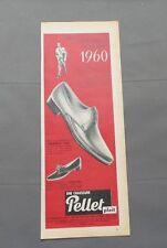PUB PUBLICITE ANCIENNE ADVERT CLIPPING 230517 CHAUSSURE PELLET PLAIT LIGNE 1960