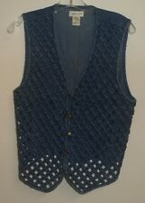 508d50014c2 Vintage Van Heusen - Denim cage Vest - Blue - Women s