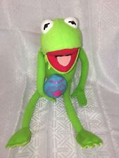 "VGUC-20"" Muppets Kermit the Frog Easter Egg Plush Doll Just Play Disney"