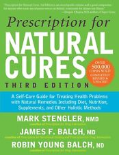Prescription for Natural Cures Third Edition Brand New Paperback Book WT55259