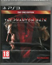 METAL GEAR SOLID V: PHANTOM PAIN (Day 1 Edition) GAME PS3 (MGS 5) ~ NEW / SEALED