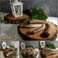 S - SIZE 50-80 gr (Pack of 3) 100% NATURAL RED DEER ANTLER DOG CHEWS