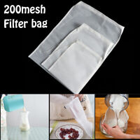 Strainer Food Special Nut Milk Bag Coffee Filter Cheese cloth Nylon Fine Mesh