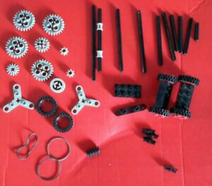 Lego technic spare parts cogs wheels tires axles bands propeller 8064