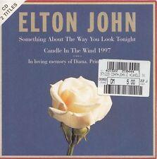 ELTON JOHN Something about the way you look tonight | 2-Track Maxi-CD Cardsleeve