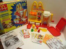 VTG McDonalds HAMBURGER Snack Maker HAPPY MEAL MAGIC Mattel Toy CLEAN COMPLETE!
