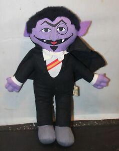 VTG Sesame Street Knickerbocker Talking The Count Plush Figure