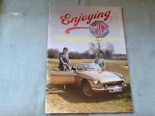 Enjoying MG Owners Club Mag Vol 4 Number 6 June 1984