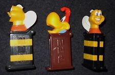 Pez Mini Bee Bird Parrot Honey Nut 2001 Cheerios Cereal Promotion Lot of 3