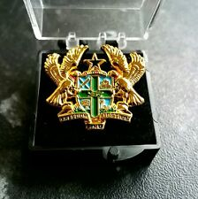 Medium Size Ghana Coat of Arms Gold Plated 3D Lapel Pin UNISEX Executive Brooch