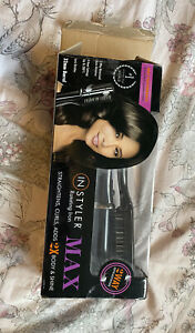 InStyler MAX 2-Way Rotating Iron Straightens Curls adds shine and volume to hair
