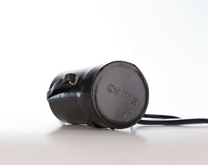 Original Canon Hard Lens Pouch Case In Nice Condition, Fits Canon FD 135mm F2.8