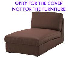 IKEA Kivik Chaise Lounge Slipcover Cover BORRED DARK BROWN 503.429.49 New