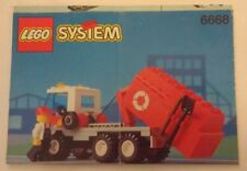 1992 LEGO Classic Town Recycle Truck (6668) INSTRUCTION MANUAL ONLY