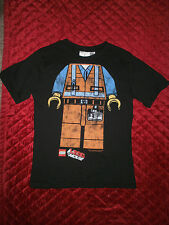THE LEGO MOVIE BLACK T SHIRT