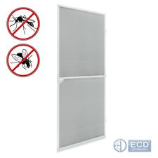 Mosquito insect net mesh guard door fly screen curtain netting white flyscreen
