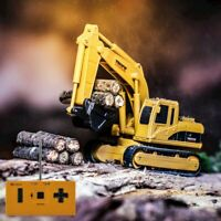 MINI REMOTE CONTROL RC DIGGER TOY BOYS CAR GADGET BIRTHDAY PRESENT PARTY GIFT