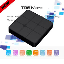 T96 MARS Android 7.1.2 Quad Core TV Box 4K H.265 8GB ROM 2.4G WiFi 100Mbps EU