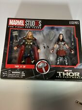 Marvel First Ten Years THOR & LADY SIF 2-Pack The Dark World Legends