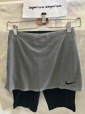 Débardeur femme Nike Cour Sèche jupe métallique platine/Noir Taille XS