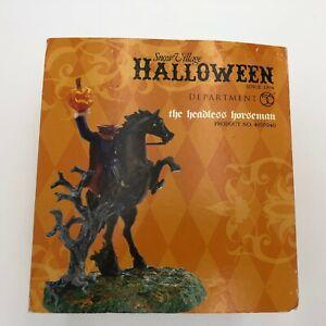 Department 56 Snow Village Halloween The Headless Horseman 4020240 2011