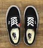 New Vans Classic Black/White Authentic (VN000EE3BLK) Canvas Skate Shoes/Sneakers