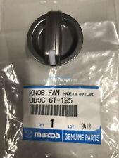 Mazda BT-50 UN 2008-2011 Genuine Heater AC Fan Speed Control Knob UB9C-61-195