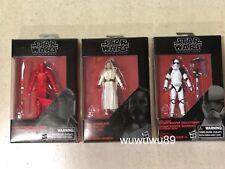Star Wars The Last Jedi Black Series 3.75 in Praetorian Guard,Luke & Executioner