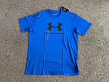 Under Armour Mens Cobalt Blue Tshirt Size L Bn