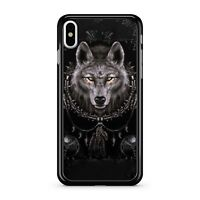 Fluffy Light Eyed Furious Locked Up Chained Wolf Animal 2D Phone Case Cover