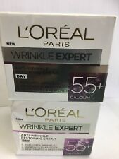 L'Oreal Paris Wrinkle Expert 55+ Calcium Day Cream Restoring Beauty Formula  x 2