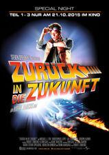 ZURÜCK IN DIE ZUKUNFT - Orig.Kino-Plakat A1 -  special Night - GEROLLT